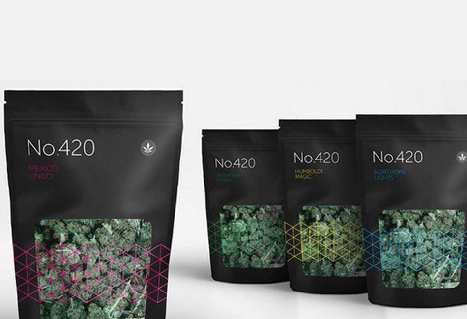 Flexible bag Cannabis