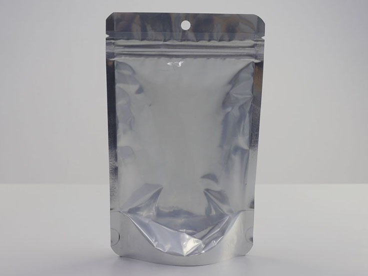 Stand Up Ziplock Pouch with window