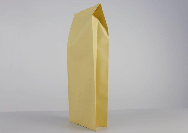 Brown kraft paper Gusset bag
