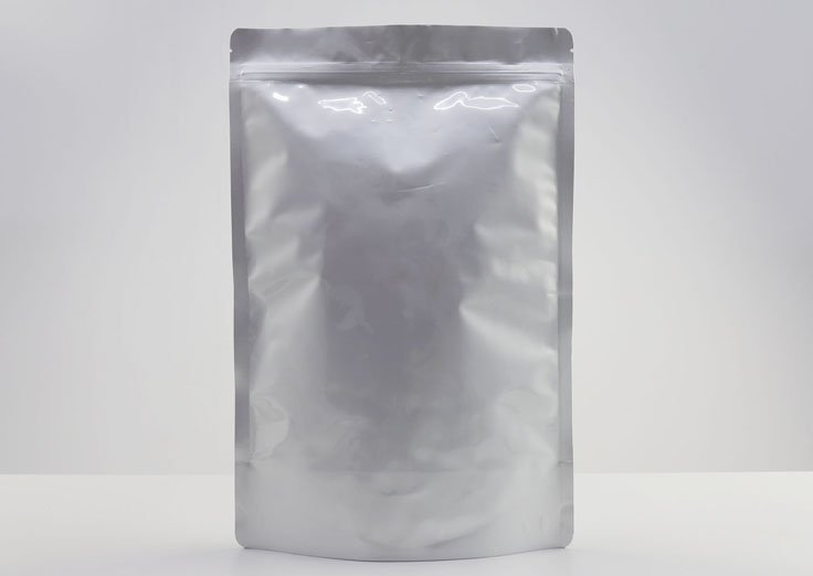Stand Up Aluminum Foil Bags with Resealable Ziplock