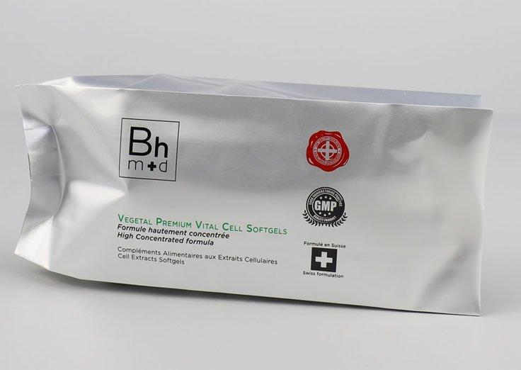 -Aluminum Foil Side Gusset Bags