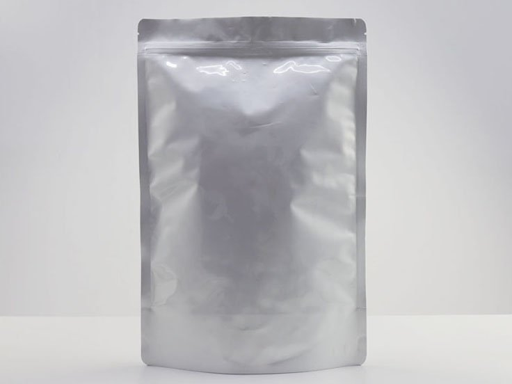 Stand Up Ziplock Pouch with Resealable Ziplock