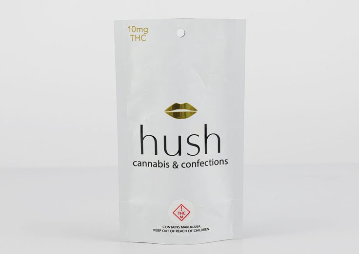 10g 3 Side Seal Pouch for cannabis