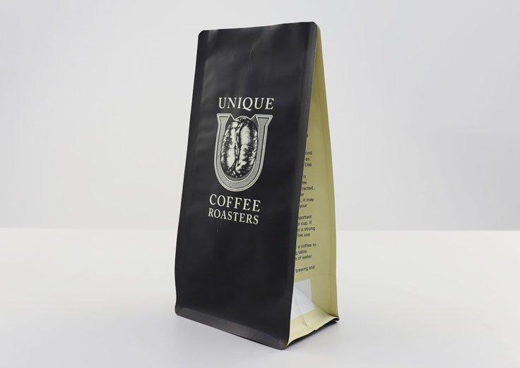Flat bottom Coffee Bag With Valve