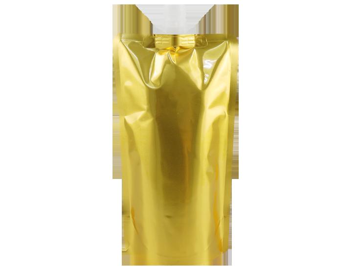 Aluminum G0ld Stand up spout pouch