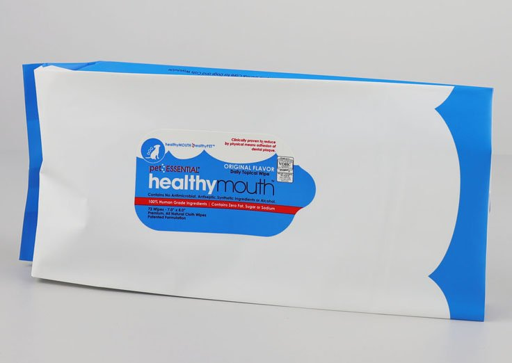 Fin Seal Pouch for wipes