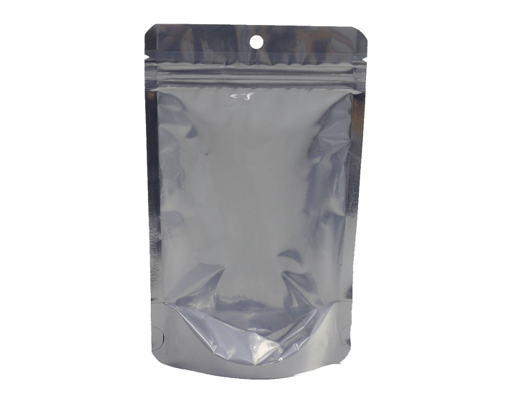 aluminum foil stand up barrier pouch with zipper