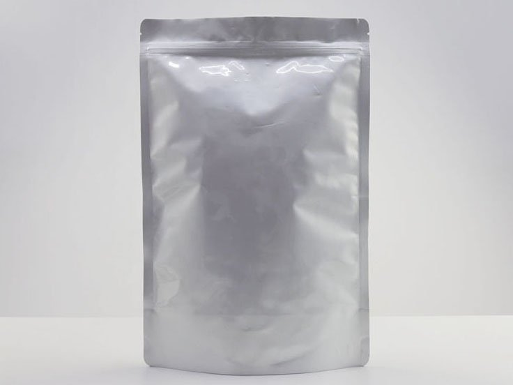 Stand Up Mylar bag with Resealable Ziplock