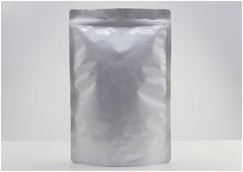 Stand Up Aluminum Foil Bags with Re-sealable Ziploc