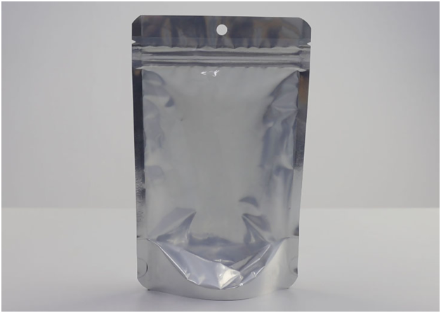 Stand Up Aluminum Foil Bags with window