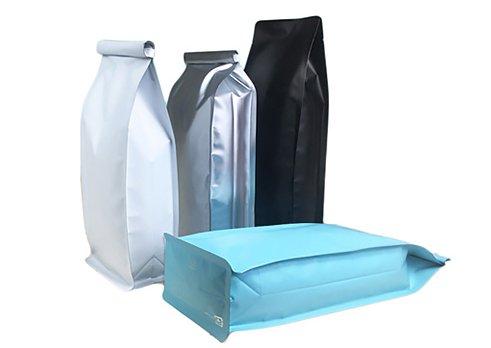 blank printing tin tie bag