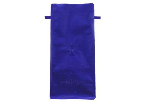 blue tin tie bag