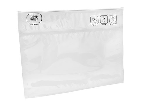clear Child Proof Dispensary pouch