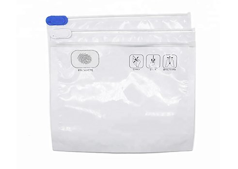 clear child resistant bags