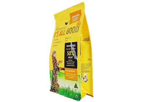 Dog Food Orange Bag