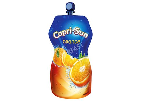 fruit drink pouch