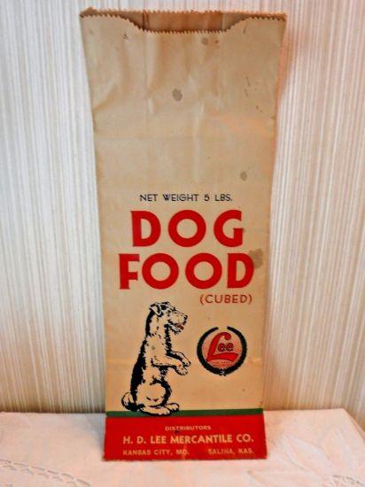 kraft paper dog food