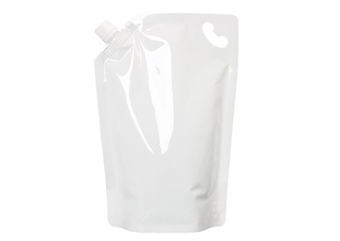 white wine pouch with handle