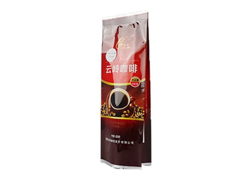 Aluminum side gusset coffee pouch with printing