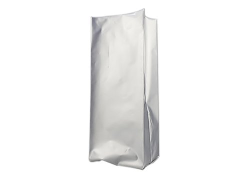 Aluminum side gusset unprinted coffee pouch