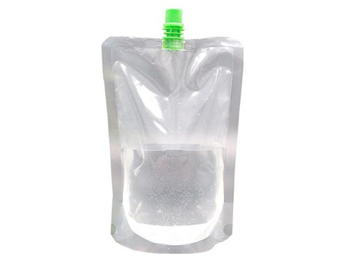 Figure 3 Clear fitment pouch