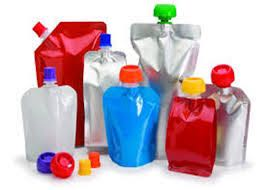 multi coloured liquid pouches