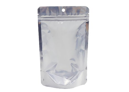 aluminum foil stand up fitment pouch