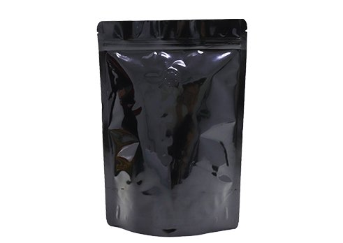 black Laminated Pouch