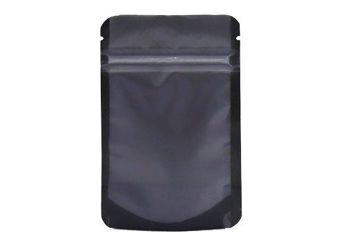 black fitment pouch