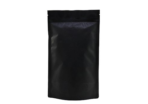 black matte Laminated Pouch
