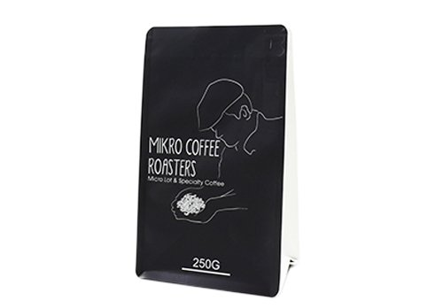 black stand up Laminated Pouch