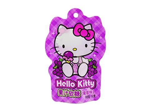 custom hello kitty shaped sugar pouch