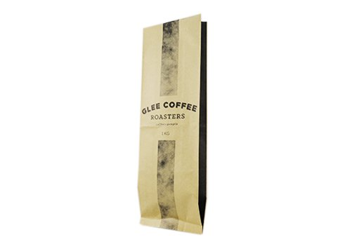 custom kraft Laminated Pouch for coffee