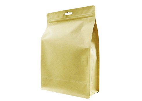 custom stand up kraft Laminated Pouch (2)