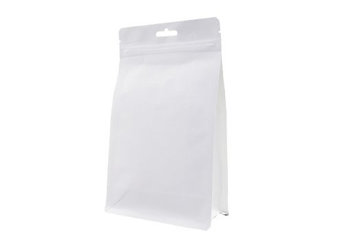 white stand up Laminated Pouch