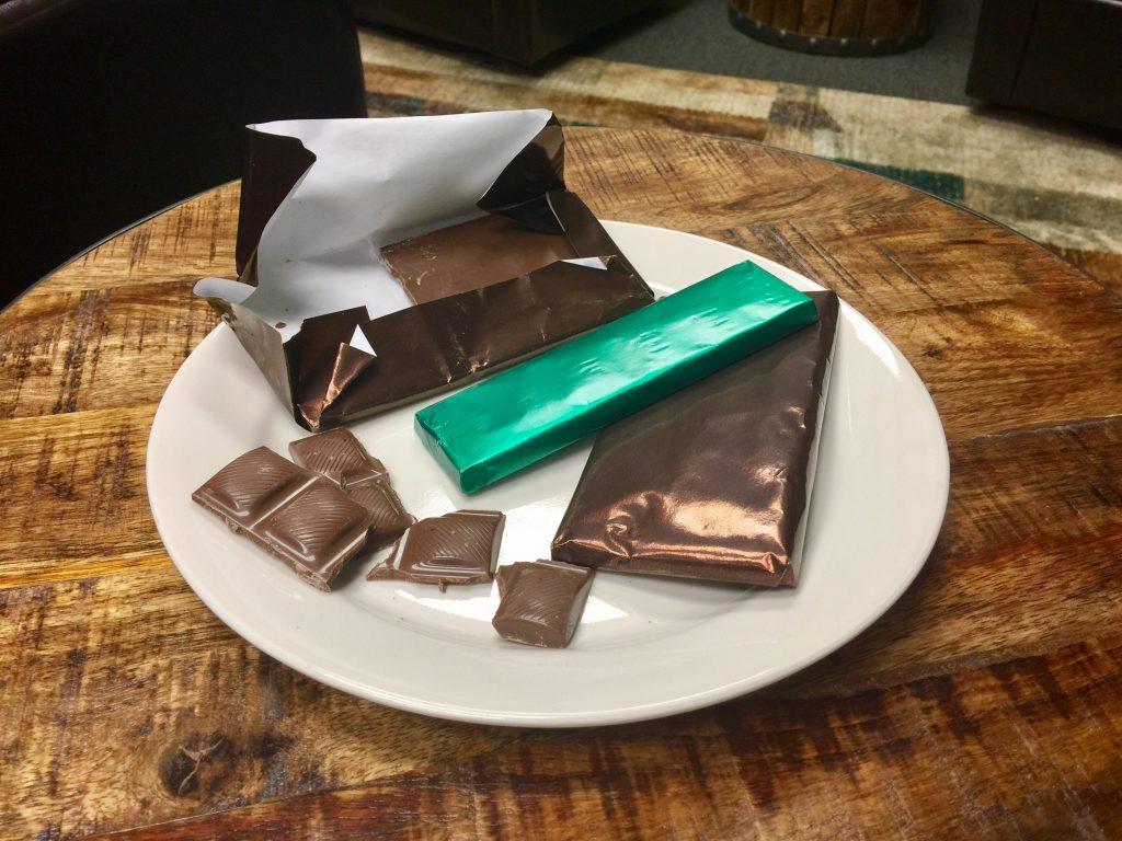 Aluminium foil candy packaging