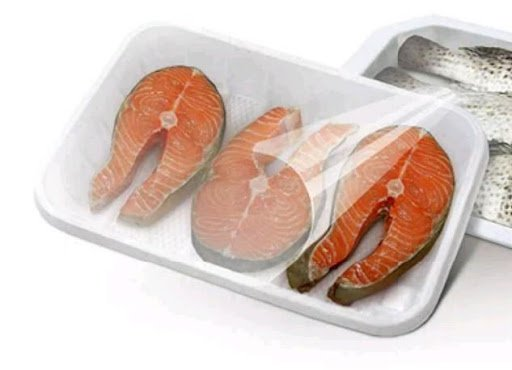 Seafood Plastic tray packaging