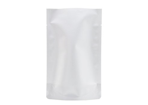 Overall white color stand up pouch for sea food packaging