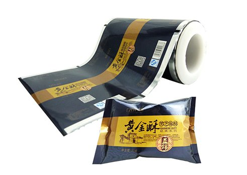 Customized printing packaging film for snack pouch