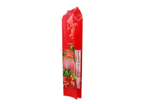 Customized printing snack pouch wirh transparent window with Gusset for snacks