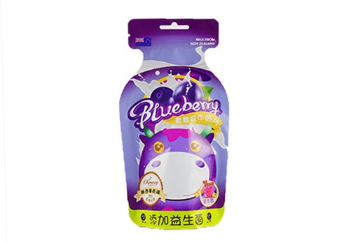Customized snack pouch Shaped Pouch for candy with customized printing with transparent window with resealable zipper