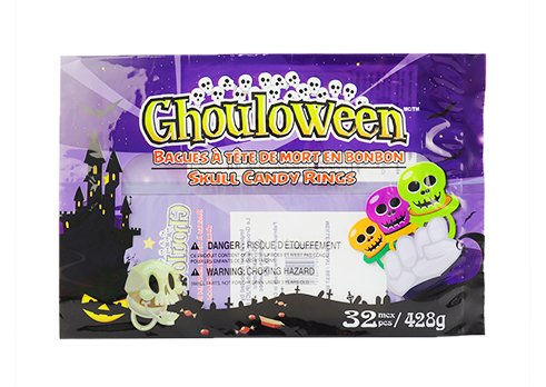 Fin sesal Pouch with customized printing for halloween snack pouch