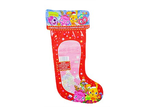 flexible laminated window pouch with customized printing for christmas candy