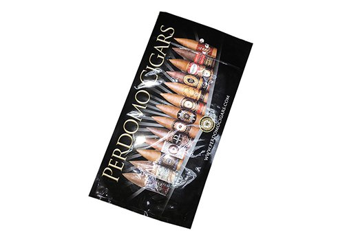 Flexible packaging bag Cigar pouch with resealable zipper with customized printing