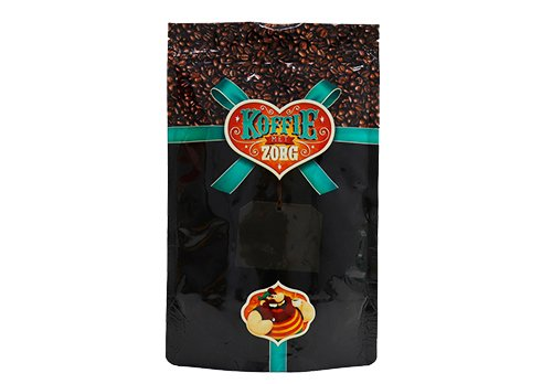 flexible packaging pouches Custom printed stand up ziplock coffee bags with valve