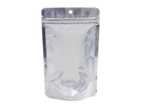 Flexible packaging pouches aluminum foil stand up barrier pouch snack pouch with resealable zipper