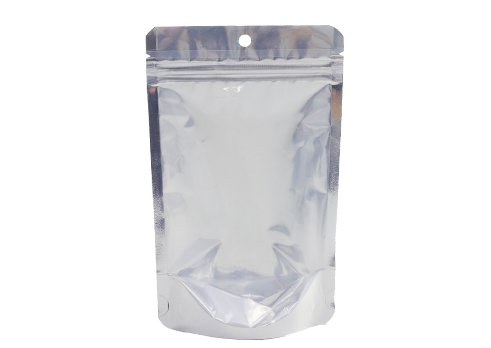 flexible packaging pouches aluminum foil stand up barrier pouch with resealable zipper for tea