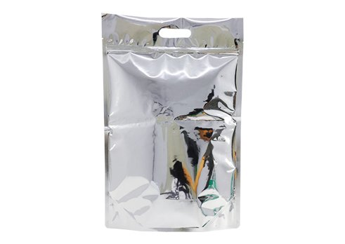flexible packaging pouches stand up foil pouch with handle with resealable ziplock