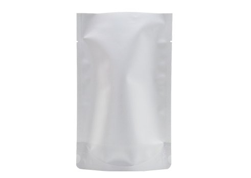 flexible packaging pouches with white printing stand up barrier pouch for tea