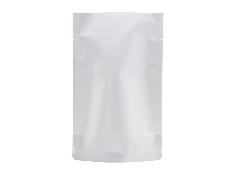 flexible packaging pouches with white printing stand up barrier pouch